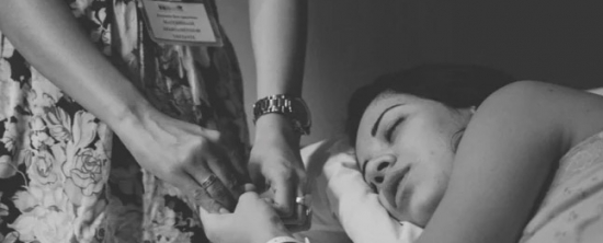 Nascimento da Valentina: Parto hospitalar