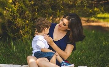 O corpo da mãe pode nutrir o bebê. A natureza é perfeita.